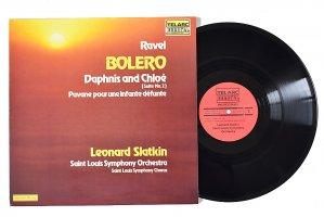 ラヴェル / ボレロ、ダフニスとクロエ、亡き王女へのパヴァーヌ / レナード・スラットキン / セント・ルイス交響楽団