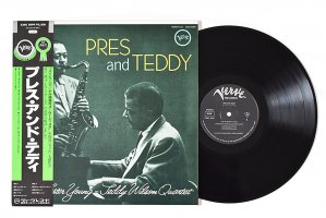 The Lester Young Teddy Wilson Quartet / Pres And Teddy / レスター・ヤング / テディ・ウィルソン<img class='new_mark_img2' src='https://img.shop-pro.jp/img/new/icons6.gif' style='border:none;display:inline;margin:0px;padding:0px;width:auto;' />