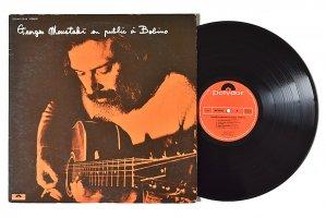 Georges Moustaki / Bobino 70 / ジョルジュ・ムスタキ