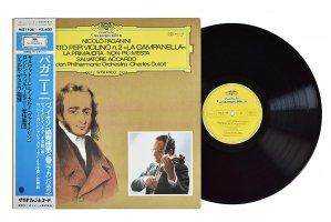 パガニーニ / ヴァイオリン協奏曲 第2番 「ラ・カンパネラ」 / サルヴァトーレ・アッカルド (ヴァイオリン) / シャルル・デュトワ