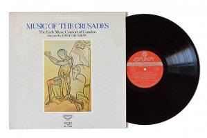 中世・ルネッサンスの音楽「十字軍」貴婦人たちと戦士たち / デイヴィッド・マンロウ / ロンドン古楽コンソート