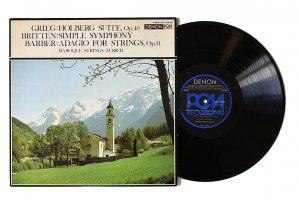 弦楽合奏の輝き / グリーグ : ホルベルク時代の組曲 / チューリッヒ・バロック合奏団