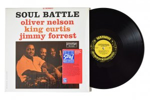 Oliver Nelson - King Curtis - Jimmy Forrest / Soul Battle / オリヴァー・ネルソン - キング・カーティス - ジミー・フォレスト<img class='new_mark_img2' src='https://img.shop-pro.jp/img/new/icons6.gif' style='border:none;display:inline;margin:0px;padding:0px;width:auto;' />