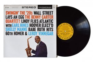 The Benny Carter Quartet / Swingin' The '20s / ベニー・カーター<img class='new_mark_img2' src='https://img.shop-pro.jp/img/new/icons6.gif' style='border:none;display:inline;margin:0px;padding:0px;width:auto;' />