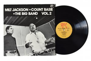 Milt Jackson + Count Basie + The Big Band Vol.2 / ミルト・ジャクソン / カウント・ベイシー<img class='new_mark_img2' src='https://img.shop-pro.jp/img/new/icons6.gif' style='border:none;display:inline;margin:0px;padding:0px;width:auto;' />