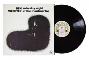 Ben Webster / Saturday Night At The Montmartre / ベン・ウェブスター<img class='new_mark_img2' src='https://img.shop-pro.jp/img/new/icons6.gif' style='border:none;display:inline;margin:0px;padding:0px;width:auto;' />