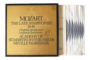 モーツァルト : 後期交響曲集 / ネヴィル・マリナー / アカデミー室内管弦楽団