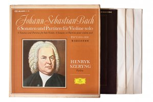 バッハ : 無伴奏ヴァイオリンのためのソナタとパルティータ / ヘンリク・シェリング (ヴァイオリン)