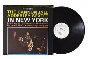 The Cannonball Adderley Sextet / In New York / キャノンボール・アダレイ<img class='new_mark_img2' src='https://img.shop-pro.jp/img/new/icons6.gif' style='border:none;display:inline;margin:0px;padding:0px;width:auto;' />