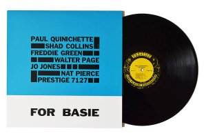 Paul Quinichette / For Basie / ポール・クイニシェット<img class='new_mark_img2' src='https://img.shop-pro.jp/img/new/icons6.gif' style='border:none;display:inline;margin:0px;padding:0px;width:auto;' />