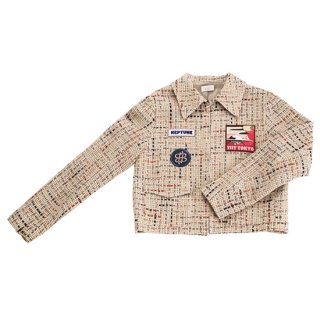〈SALE50%off〉Tweed Jacket (beige)