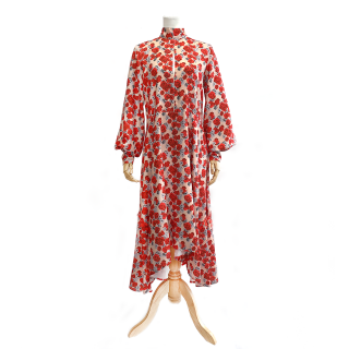 Floral Dress (red)