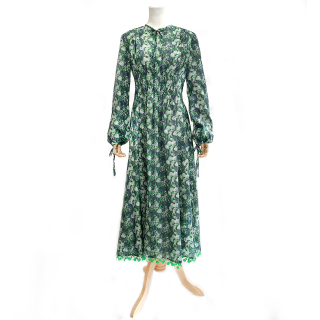 Flower Rain Dress (green)