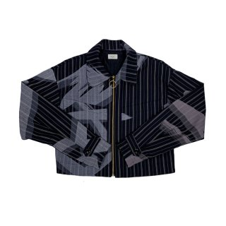 Paint Blouson (navy)