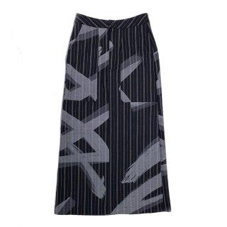 Paint Skirt (navy)
