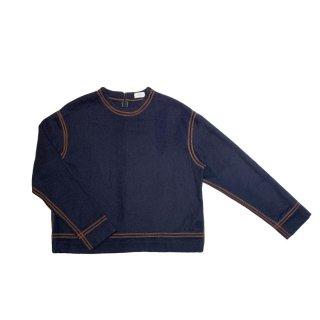 Stitch Top (navy)