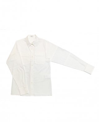 combi border shirt (white)