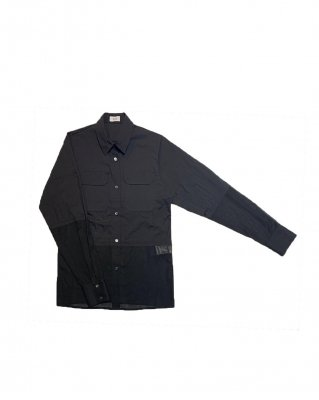 combi border shirt (black)