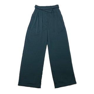 stitch pants (green)