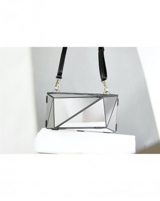 <予約商品> metal bag (L) / plain