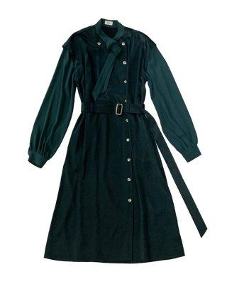 bowtie dress (green)