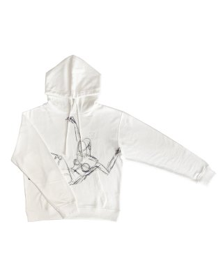 drowing parka (white)