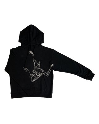 drowing parka (black)
