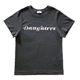 [daughters × tiit tokyo] logo T shirt (gray)