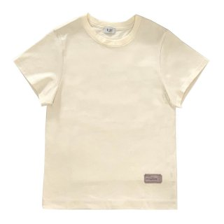[daughters × tiit tokyo] logo ticket T shirt (Ivory)