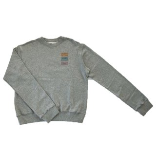 [daughters × tiit tokyo] ticket print pullover (gray)
