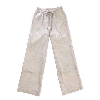 [daughters × tiit tokyo] marble dot pants