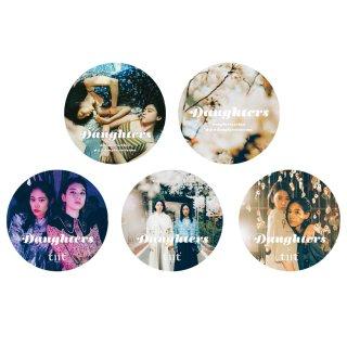 [daughters] sticker(5枚セット)