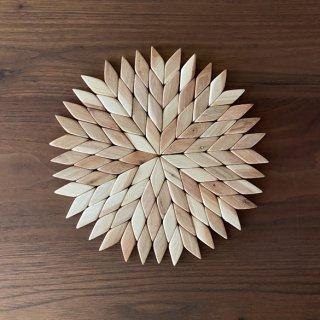 木のポットマット モザイク | Skandinavisk Hemslojd