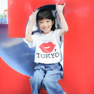 KIDS TEE【RED】<img class='new_mark_img2' src='https://img.shop-pro.jp/img/new/icons5.gif' style='border:none;display:inline;margin:0px;padding:0px;width:auto;' />