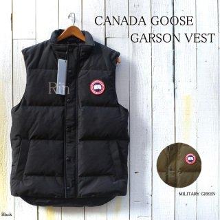 CANADA GOOSE / カナダグース / GARSON VEST / ギャルソンベスト / ダウンベスト / メンズ