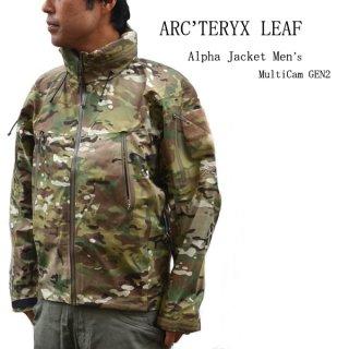 ARC'TERYX LEAF / アークテリクスリーフ / Alpha Jacket Men's MultiCam GEN2 / アルファジャケット / ジェネレーション2 / 迷彩