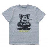 PORKCHOP/ポークチョップ/PORK MOON PHOTO TEE/GRAY