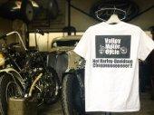 Turlock/ターロック/×Valley Motor Cycle コラボTee/White