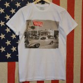 Turlock/ターロック/IN-N-OUT FRONT TEE/WHITE