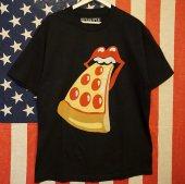 Turlock/ターロック/PIZZANISTA! Rolling Stones TEE/Black