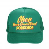PORKCHOP/ポークチョップ/CHOP YOUR OWN WOOD CAP/GREEN