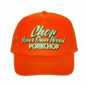 PORKCHOP/ポークチョップ/CHOP YOUR OWN WOOD CAP/ORANGE