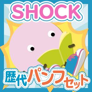 【お得セット】SHOCK 歴代ツアーパンフセット