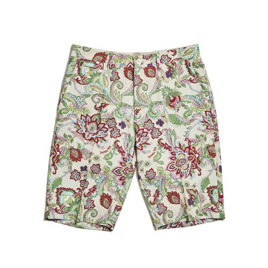 Fleamarket botanical short trousers / men