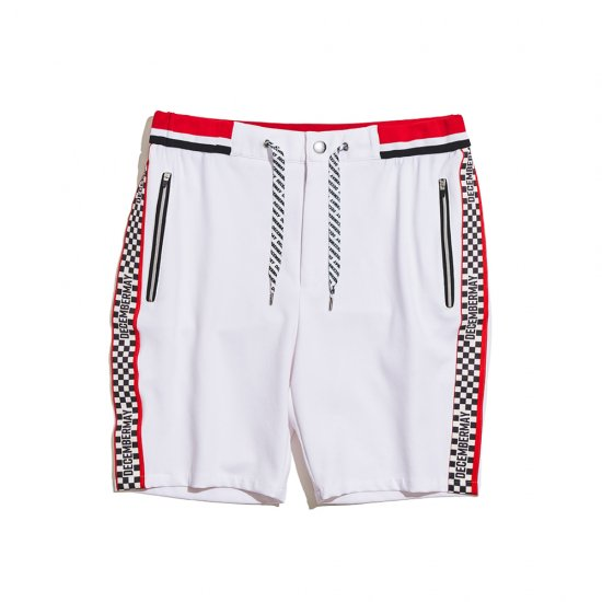 Techno-features track shorts / men