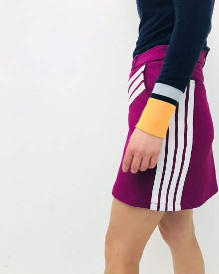 4x3 ponti skirt / women