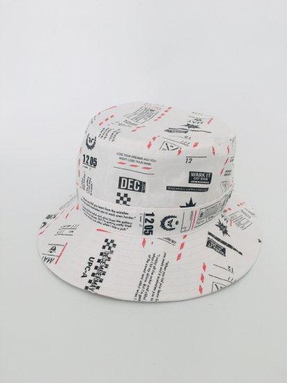 【EVEN掲載】SIWA Roundtrip glossy Bucket Hat / unisex