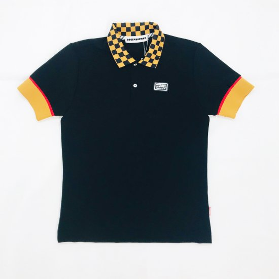 Checkered polo / men