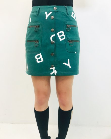 Studded Alpha Skirt / women