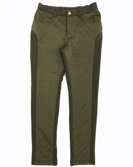 MIL-wavequilt Tapered Pants / men